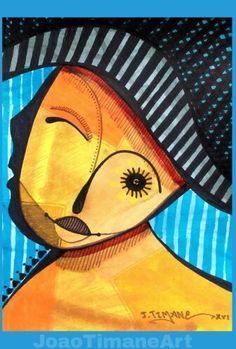 Pintura de João Timane. Artista plástico Moçambicano.   Fb: JoaoTimaneArt