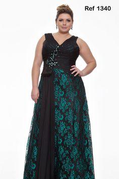 vestido de festa plus size 9                                                                                                                                                      Mais