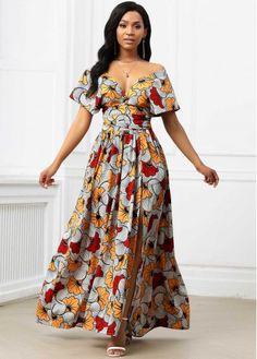 Best African Dresses, Latest African Fashion Dresses, African Print Dresses, African Print Fashion, African Attire, Women's Fashion Dresses, African Wear, Ankara Long Gown Styles, Short Ankara Dresses