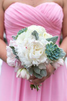 bridesmaid bouquet, succulent bouquet, www.christinalogandesign.com, wedding