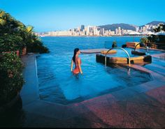Hotel Spa Hong Kong - Infinity pool