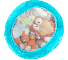 #kids chair uses stuffies as the padding.  #storage & #seating in one!