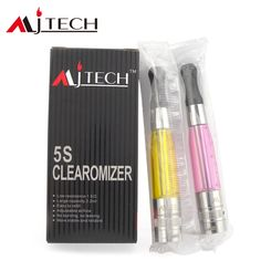 MJTech 5S is a 1.5 ohm double heating coil clearomizer. It has adjustable airflow function, fits with VV360, and is also compatible with 510 series and EGO series battery.