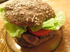 Sült tarjás paleo szendvics