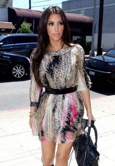Kim kardashian. pretty dress