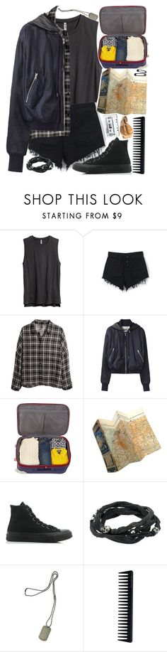 """""""Deanna Winchester//Summertime Sadness"""" by jlol ❤ liked on Polyvore featuring H&M, WithChic, Acne Studios, Converse, King Baby Studio, Dsquared2 and GHD"""