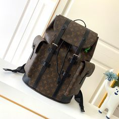 Louis Vuitton Monogram Macassar Christopher Backpack PM LV M43735 - Louis Vuitton Handbags Lv Handbags, Louis Vuitton Handbags, Louis Vuitton Monogram, Louis Vuitton Damier, Mcm Milla, Loewe Puzzle, Outdoor Backpacks, Prada Shoes, Lady Dior