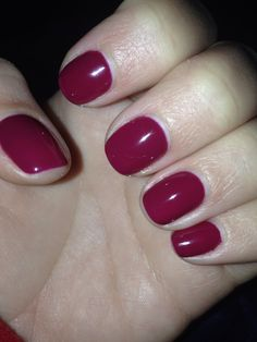 CND shellac in Tinted Love.