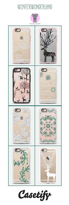 THE WINTER COLLECTION 2015 by Monika Strigel & Casetify Lovely hand illustrated transparent case by Monika Strigel and Casetify.  The case comes for all iPhones and Samsungs!  Use the 10 $ off code for your first order and enjoy: qm2i9w Free Shipping worldwide is included!