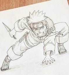 APRENDA 10 sacadas para fazer você desenhar melhor |Clique na imagem para saber mais #desenhos #comodesenhar #desenhoalapis #desenheanime #desenhemanga Naruto Drawings Easy, Naruto Sketch Drawing, Anime Boy Sketch, Goku Drawing, Anime Drawings Sketches, Manga Drawing, Manga Art, Cute Drawings, Naruto Anime