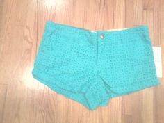 DREAM OUT LOUD BY SELENA GOMEZ EYELET STYLE SHORTS, NWT