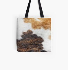 Multi brown color cow print by whitedove457 | Redbubble