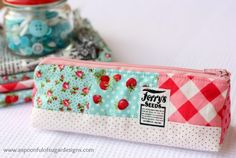 A Spoonful of Sugar: Triangular pencil case...