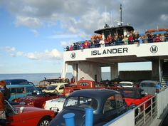 """You never know what may be aboard a Miller Ferry! July 1, 2103, our latest blog """"The Things We Carry"""" - Put-in-Bay Island Blog"""