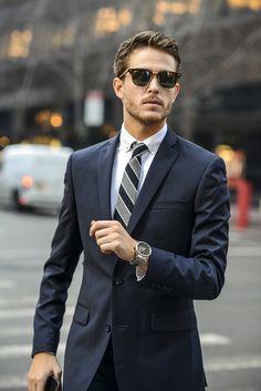 Bar 3 suit | Rayban | Caravelle | Details at http://iamgalla.com/2015/02/settingthebar/