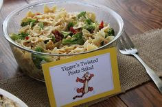 cute winnie the pooh themed foods for a baby shower