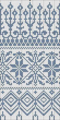 Best Ideas For Knitting Fair Isle Tricot Knitting Machine Patterns, Fair Isle Knitting Patterns, Fair Isle Pattern, Knitting Charts, Knitting Stitches, Free Knitting, Sock Knitting, Vintage Knitting, Crochet Motifs