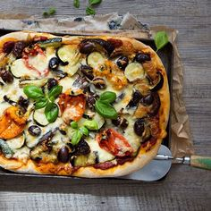 Recept | Homemade vegetarische groenten pizza