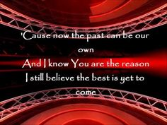 Red - The Best Is Yet to Come cover with lyrics