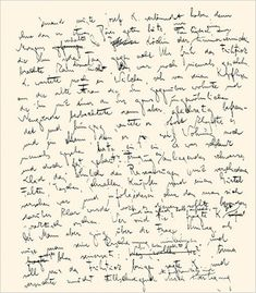 Franz Kafka | The Very Weird Handwriting Of Very Famous Authors
