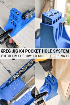 the expanding options for fast methods for Popular Woodworking Furniture How To Remove Kreg Jig Projects, Easy Woodworking Projects, Popular Woodworking, Woodworking Jigs, Diy Wood Projects, Carpentry, Woodworking Techniques, Kreg Jig Plans, Kreg Jig K4