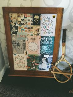 Upcycled frame - thanks flow book for paper lovers!