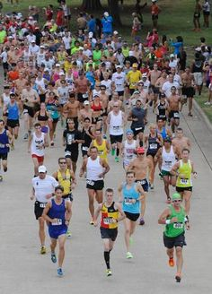 Temperatures were in the 80s and rose toward 90 for the Hottest Half & 10K Sunday at Norbuck Park in Dallas, but that didn't stop 1,850 racers from finishing. Matthew Peters, 24, of Denton was the men's overall winner in 1:16:38; Virginia Jones, 31 of League City, Texas was the women's winner in 1:23:52.