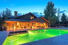 Extraordinary Property of the Day: Grand Tranquil Lodge in Park City, Utah