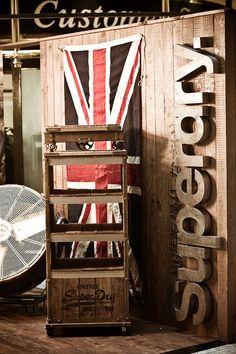 superdry pop-up store @ selfridges