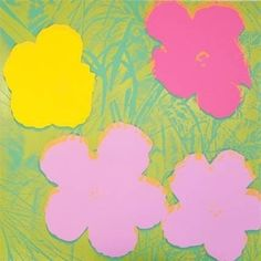 Screenprint - Andy Warhol - Flowers II.68