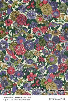 Monbazillac Violettes - liberty of London par la Droguerie