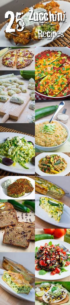 Zucchini Recipes A collection of the best zucchini and summer squash recipes that are easy to make! – 25 Zucchini Recipes Zucchini Recipes A collection of the best zucchini and summer squash recipes that are easy to make! Wrap Recipes, Vegetable Recipes, New Recipes, Vegetarian Recipes, Dinner Recipes, Cooking Recipes, Healthy Recipes, Recipies, Clean Eating