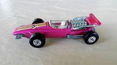 Vintage 1971 Lesney Matchbox Superfast Metallic Pink #34 FORMULA 1 Racer: MINT - http://www.matchbox-lesney.com/?p=17728