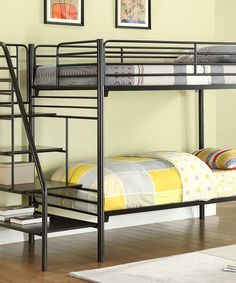 Take a look at the Metal Stairway Bunk Bed on #zulily today!
