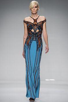 Atelier Versace Spring 2016 Couture Fashion Show - Iris Strubegger
