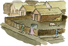 Vikingar, De första städerna - Unga Fakta