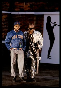 Spike Lee and Miles Davis