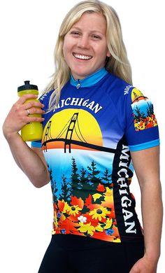 1bc4c37ba Women s Michigan Cycling Jersey Free Spirit Bike