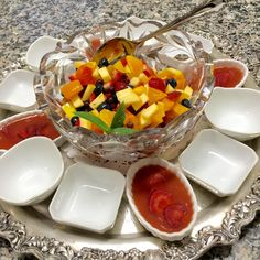 Sunshine fruit salad and strawberry gels Fruit Salad, Sunshine, Strawberry, Drink, Food, Fruit Salads, Beverage, Meals, Drinking