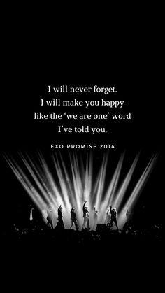 exo promise 2014 wallpaper Exo Promise Lyrics, Song Quotes, Life Quotes, Exo Songs, Pop Lyrics, Exo 2014, Bring Me To Life, Korean Quotes, Exo Lockscreen
