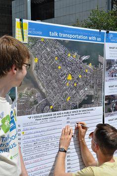 Vancouver transportation plan - community engagement