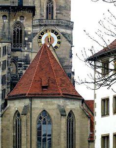 Evangelische Stiftskirche in Stuttgart, Germany