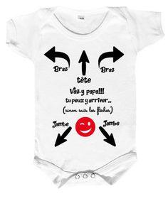 Inconnu T-Shirt b/éb/é JAi Une Marraine tatou/ée