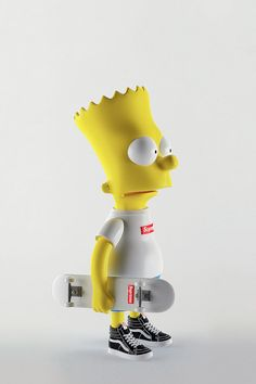 Bart Simpson in Supreme, Rick Owens and Givenchy by Simeon Georgiev