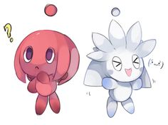 Knuckles and Silver Chao!