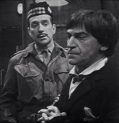 The Doctor and Brigadier Sir Alistair Gordon Lethbridge-Stewart