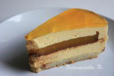 Entremets Mangue-Passion Insert Gelée Mangue/Passion/Ganache Chocolat pour le #YummyDayBirthday #YummyMagazine