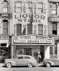Old Minneapolis Photo, Liquor and Drugs, Gateway District, Minneapolis Minnesota, Minneapolis Vintage Photographs, Vintage Photos, Vintage Ads, Thing 1, Ex Machina, Minneapolis Minnesota, Liquor Store, Thats The Way, Photo Archive