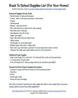 Printable Office Supply List Glamorous How To Create A Simple Address Book And Organize Contact Information .