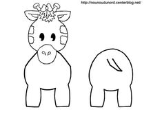 Coloriage girafe pour rouleau de papier wc - .google.fr/imgres?sa=x